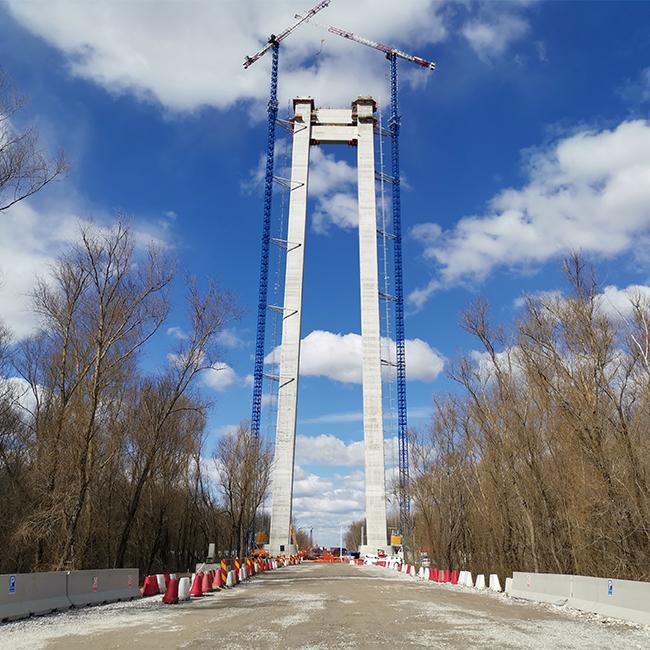 Pod Brăila – Supervizarea contractului de proiectare și execuție lucrări și dirigenție de șantier